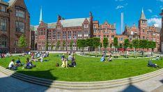 Campus universitario de Liverpool.