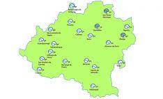 Pronóstico a las 15:00 horas. /eltiempo.es