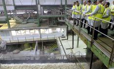 Visita oficial de la Junta a la planta remolachera de Olmedo (Valladolid). /Jta.