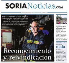 Portada del número 96 de Soria Noticias.