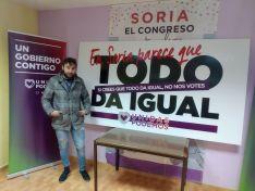 Imágenes de la campaña de Unidas Podemos.