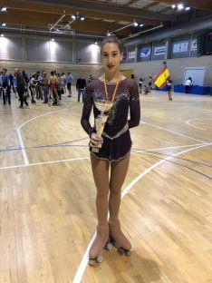 Ana Arancón y Gabriela Sanz acudieron a la Copa de Aragón en representación del CD Patín.