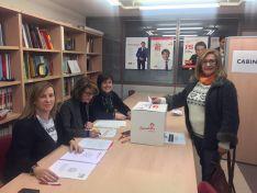 La militancia soriana del PSOE vota para apoyar el acuerdo de Gobierno de coalición con Unidas Podemos