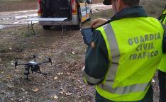 La GC de Soria trabaja con drones.