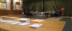 Imágen de la jornada electoral en Covaleda. SN