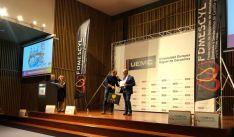 Entrega de los Premios en Valladolid.