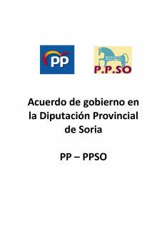 Foto 5 - Serrano publica el acuerdo PP-PPSO… obviando a los temas candentes