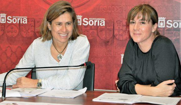 Sanz (izda.) y Lozano este lunes. /Ayto.