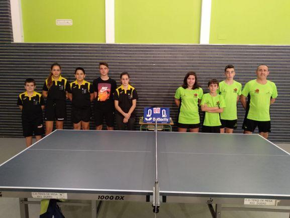 Doblete para el tenis de mesa soriano - Soria Noticias