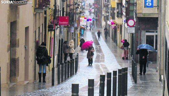 Una de las calles del centro de la ciudad.