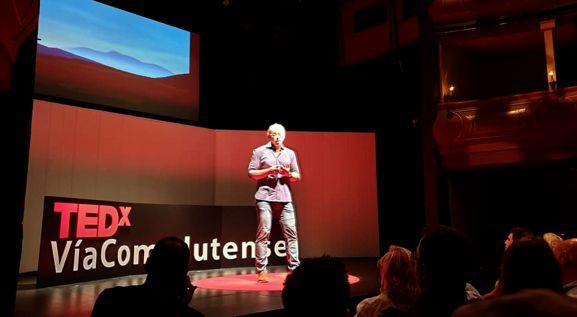 El arqueólogo soriano Antonio Chain, en las prestigiosas charlas TEDx - Soria Noticias
