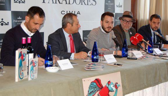 Enrique Rubio (izda.), Manuel Vieites, -Eder García, Javier Muñiz y Rafael Rubio. /Ayto.