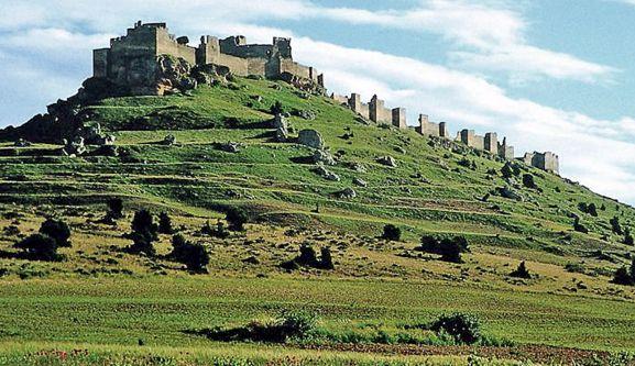 Imagen de la fortaleza medieval de Gormaz.