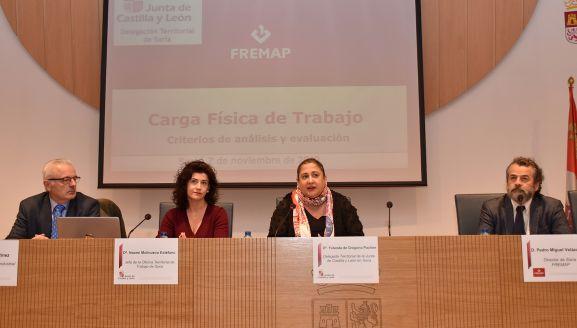 La 'Colmena' acoge una jornada de sensibilización sobre la carga física en el trabajo - Soria Noticias