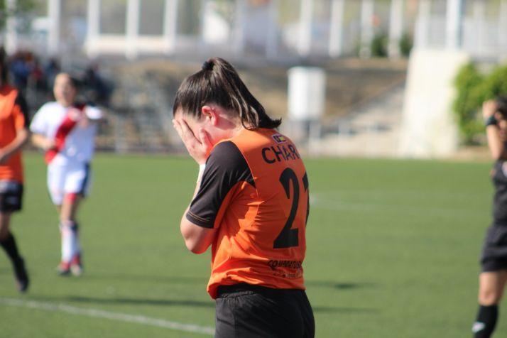 Marta Charle, jugadora del CD Parquesol. 360 Servicios Deportivos