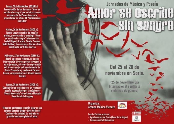 Foto 1 - Jornadas 'Amor se escribe sin sangre' para conmemorar el Día Internacional para la Eliminación de la Violencia de Género