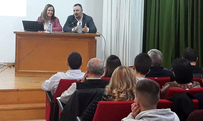 La soriana, en su intervención este viernes en León.