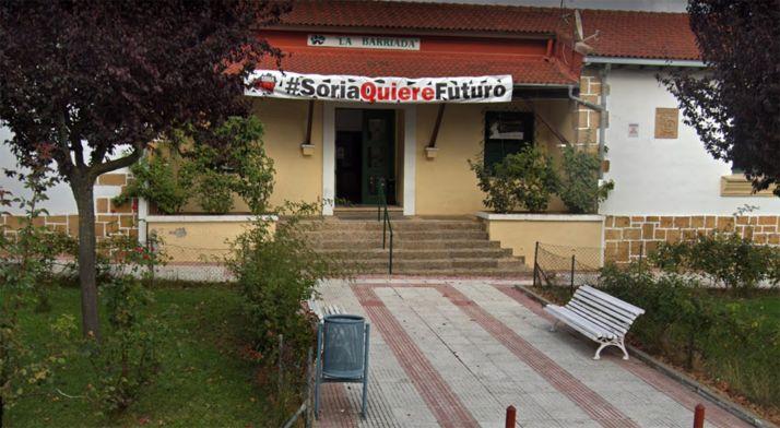 Imagen de la sede de la agrupación vecinal. /GM