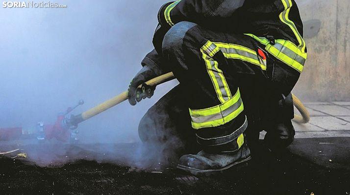 Foto 1 - Fallece en el incendio de una vivienda en Burgos