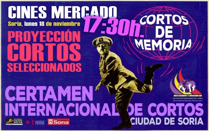 Foto 1 - Esta tarde se proyectan los Cortos de Memoria