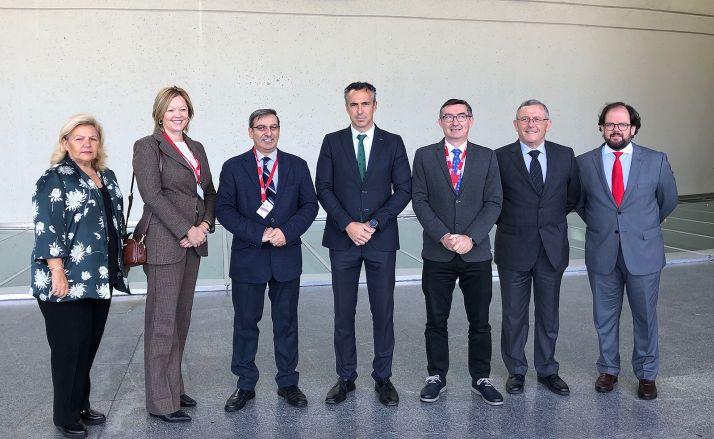 Miembros de las dos delegaciones integradas en el grupo de trabajo.