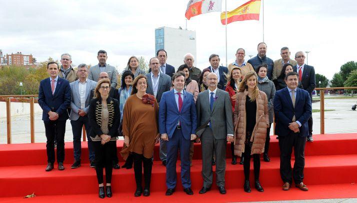 Imagen de la clausura XVI Asamblea General de la Federación Regional de Municipios y Provincias. /Jta.