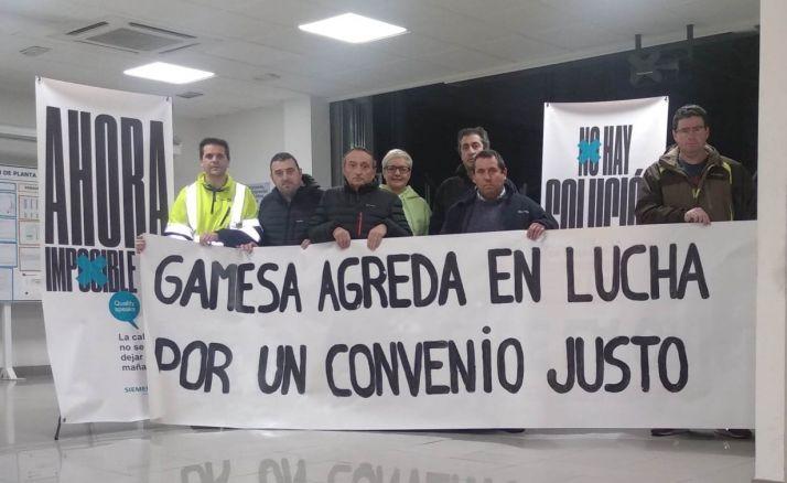 Tras 74 horas, los trabajadores de Siemens Gamesa ponen fin a su encierro