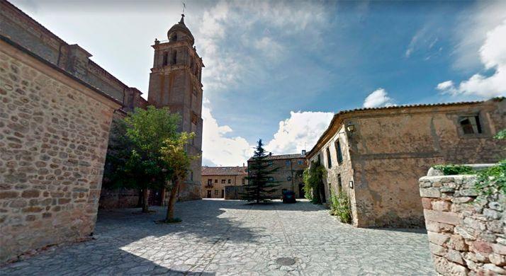 Plaza del Carmen de Medinaceli.