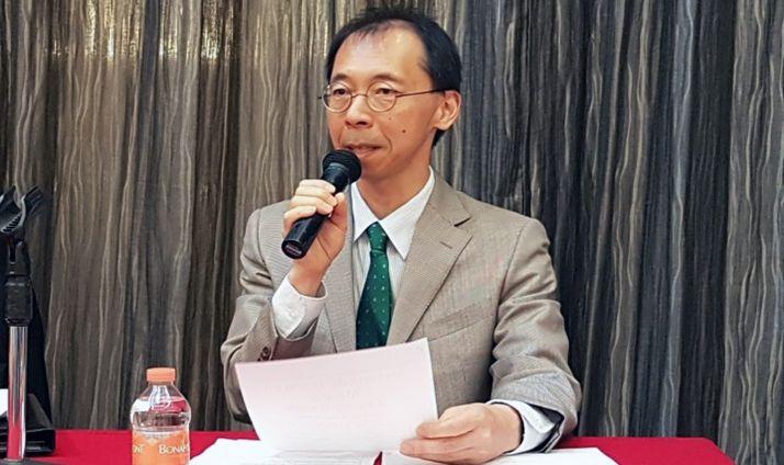 El diplomático nipón Toru Shimizu.