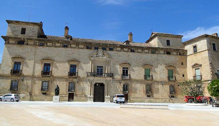 Una imagen del emblemático edificio adnamantino.