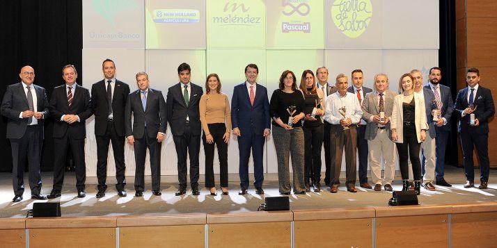 Una imagen de la entrega de los premios. /Jta.