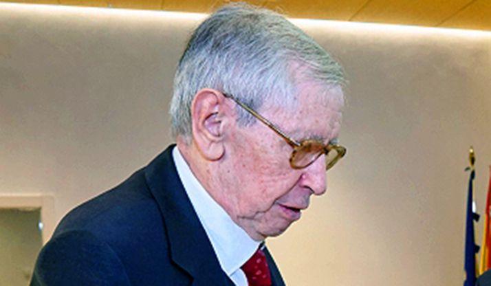 Fernando Sáenz Ridruejo, reconocido en la Casa de Soria.
