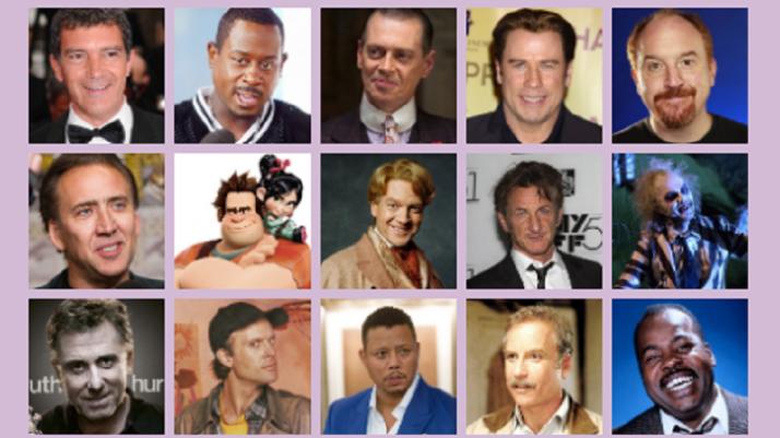 Personajes a los que ha puesto voz Salvador Aldeguer.