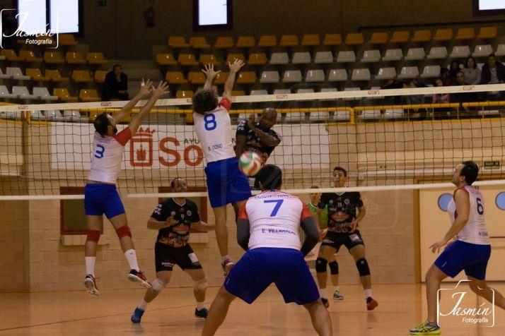 Un encuentro del Sporting CV. /Jasmín Malvesado