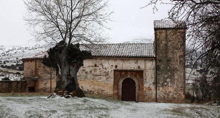 Templo parroquial de Santa Coloma, en Matute.
