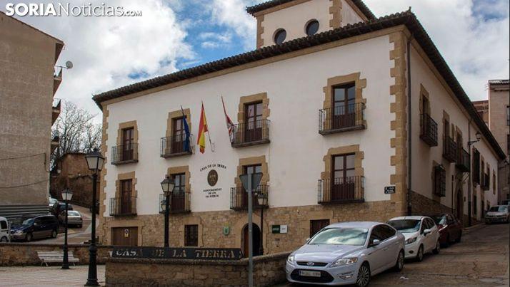 Edificio de la Casa de la Tierra, sede de la UNED en Soria. /SN