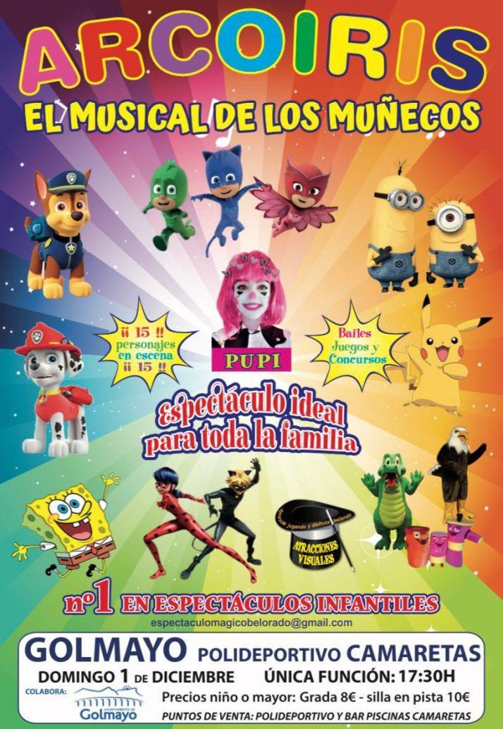 Foto 2 - El musical de los muñecos llega a Golmayo