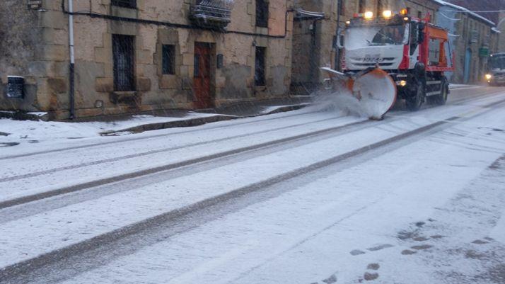 Imagen de archivo de la travesía de Duruelo.