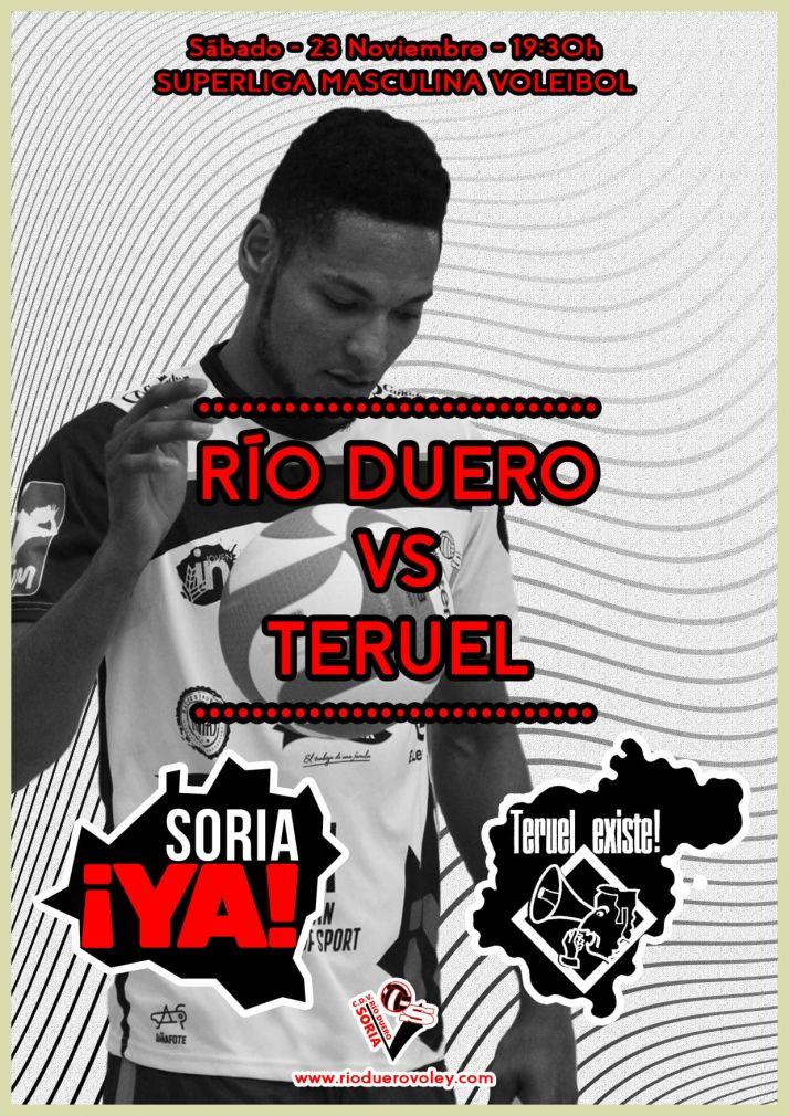 Este sábado, el Río Duero-CV Teruel no será un partido más. Río Duero