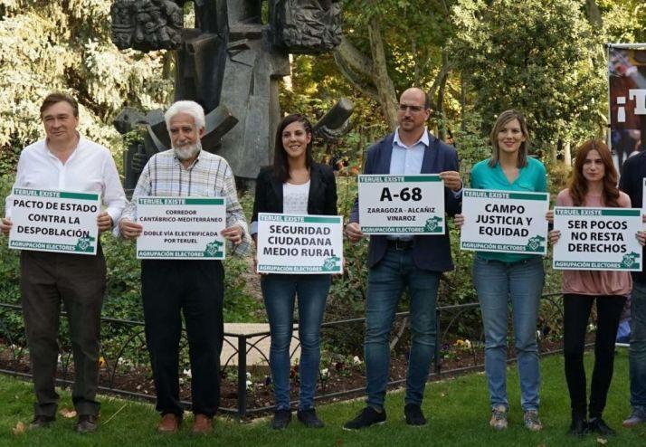 Foto 1 - Teruel Existe logra un diputado y lleva la España Vaciada al Congreso