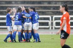 El Parquesol cosechó un 2-2 en Oviedo. Oviedo Moderno
