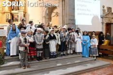 Una imagen de 'Las Posadas' en Ágreda este domingo. /Nacho Grijalbo
