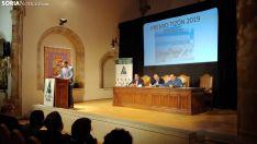 Una imagen del acto central en el Aula Tirso de Molina. /M Audiovisuales