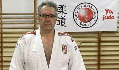 El judoka soriano Ramón Aragonés.