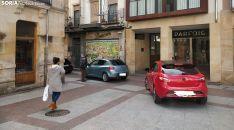 Tres vehículos son sorprendidos en el Collado de Soria