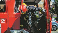 Un bombero del SEIS en una imagen de archivo. /SN