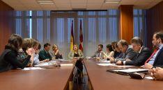 Comisión Territorial de Coordinación  de la Junta en Soria. /Jta.