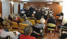 Una imagen del recital navideño. /SN