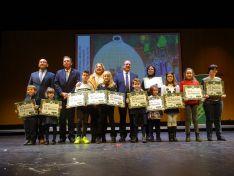 Estos son los dibujos y los autores ganadores de las pequepostales de Caja Rural