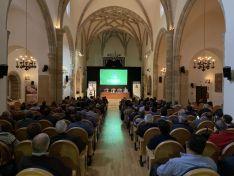 Una imagen del acto central en el Aula Tirso de Molina.
